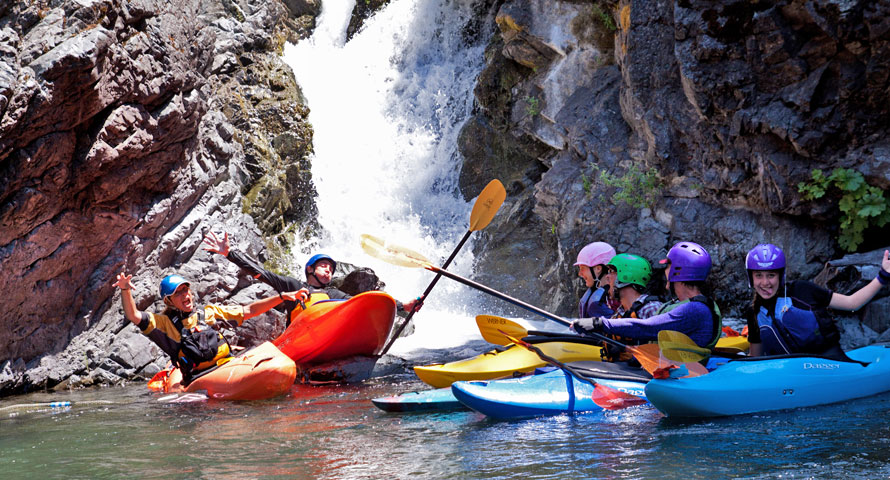 Fun Kayak School on the Rogue River with Sundance Kayak School