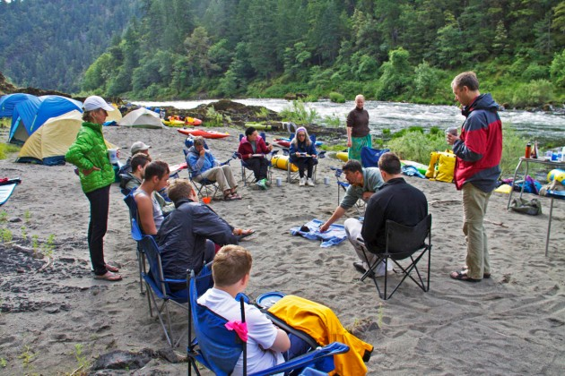 We love wilderness based kayak instruction