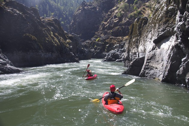 Mule Creek Canyon on the Rogue River