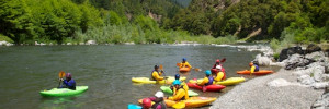 Kayak School on the Rogue River