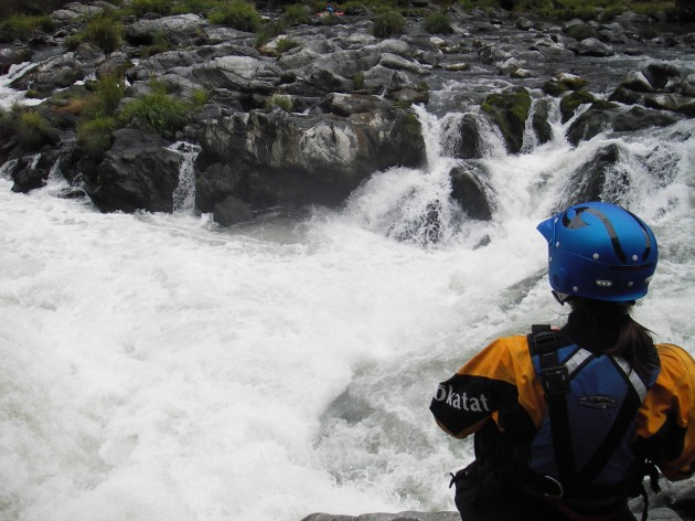 White water kayaking mental sport