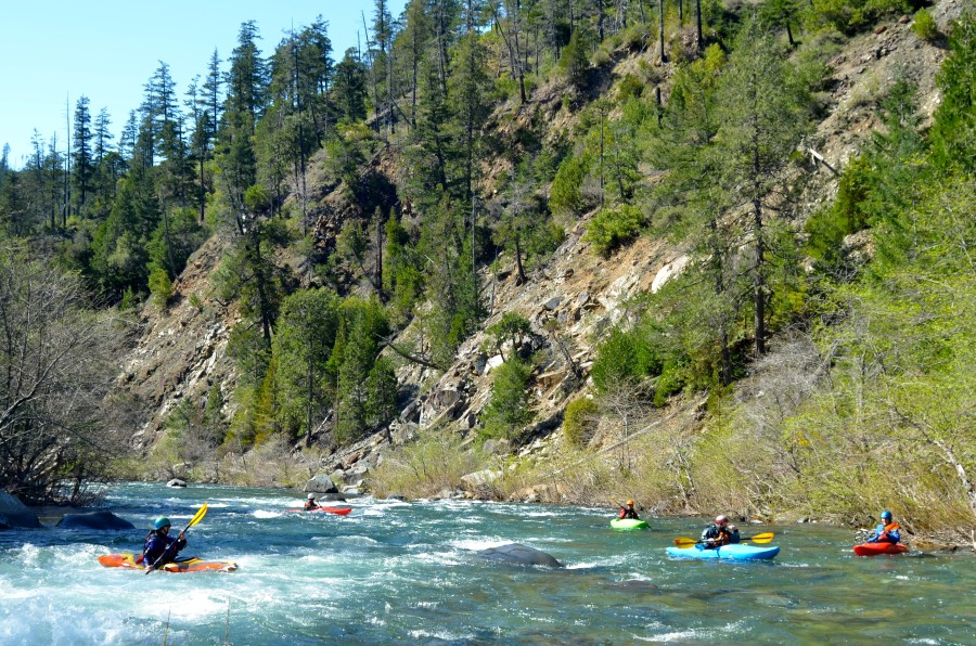 Smith River kayak lesson