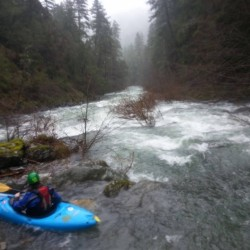 Confluence of Chrome Creek and Upper North Fork Smith