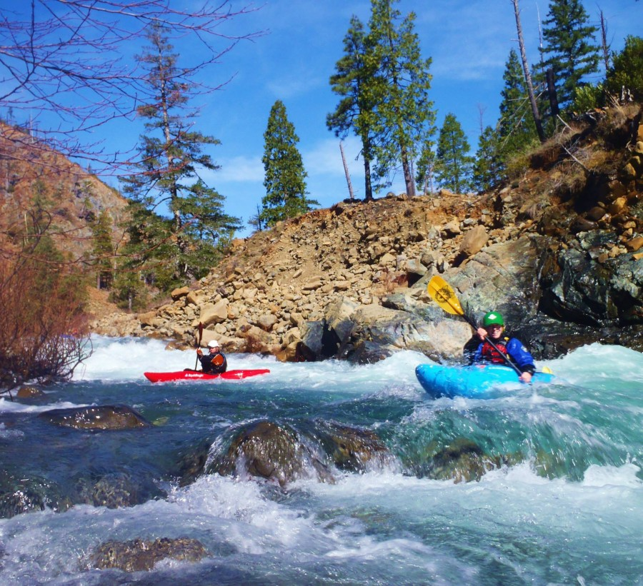 Kayaking the Smith River in Northern California