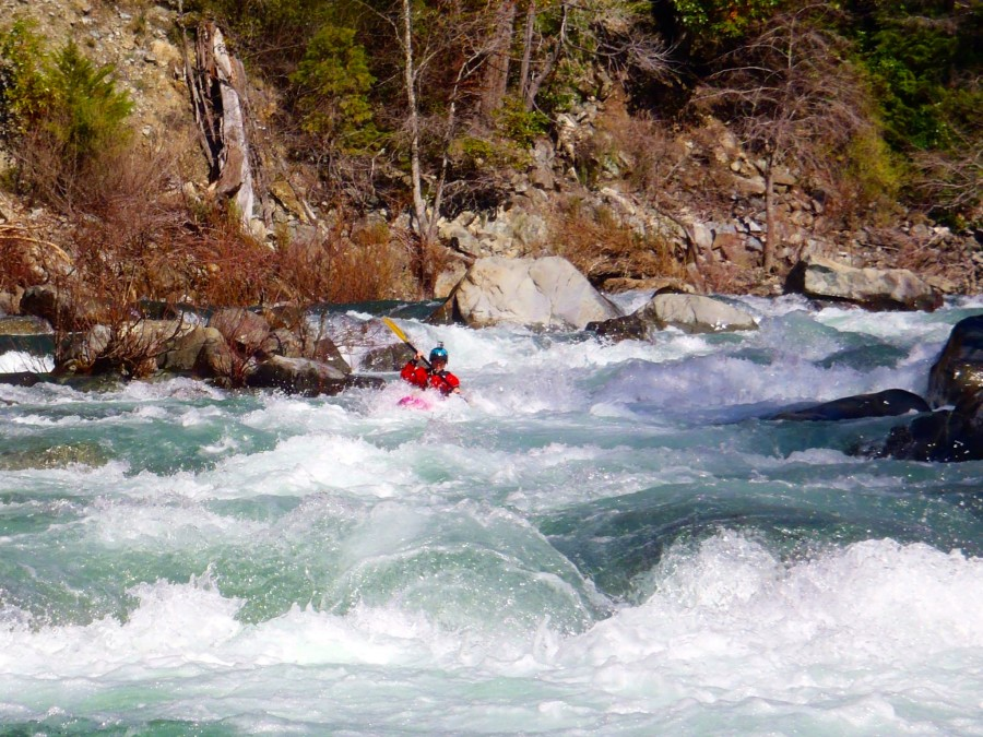 Highway Rapid on the Middle Fork of the Smith River