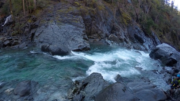 Beautiful rapids of the Upper Chetco River
