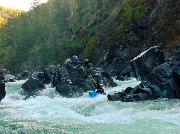 rapids on the Wild & Scenic Chetco River