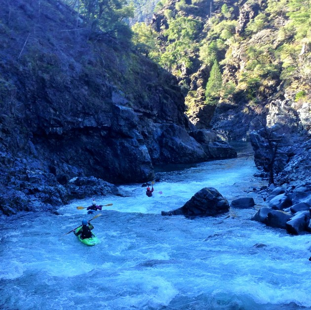 rapids on the Chetco River