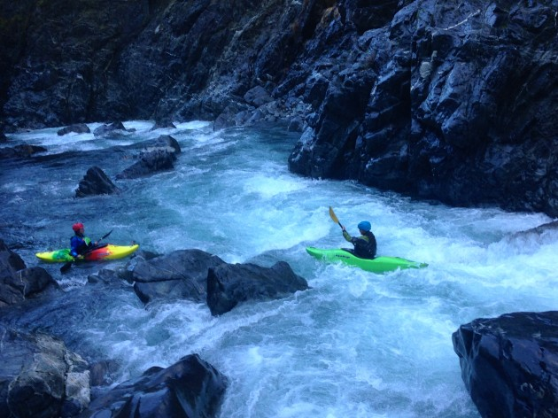 fun rapids in the section between Slide Creek and Granite Creek