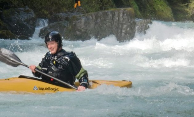 Jonathan Hyland Kayak Instructor