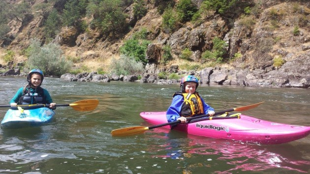 Rogue River Youth Kayak Camp