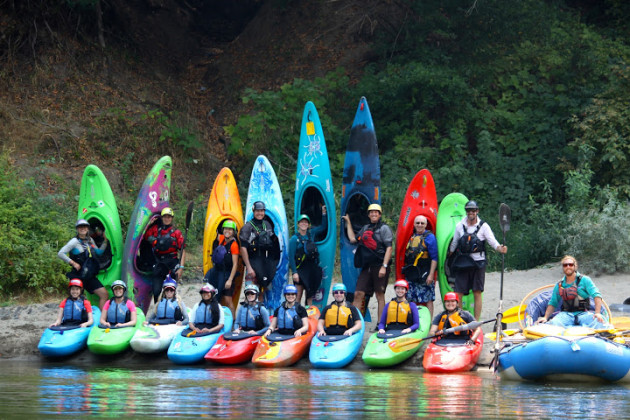 First Descents Kayak School Rogue River Oregon